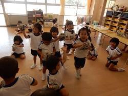幼稚園 たまごづくり 9月8日(金)