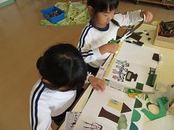 幼稚園 作品展に向けて 11月6日(月)