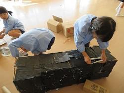 幼稚園 作品展に向けて 11月1日(水)