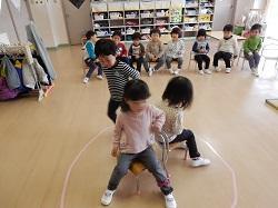 幼稚園 椅子取りゲーム 2月19日(月)