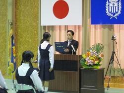 中学校卒業式 3月10日(土)