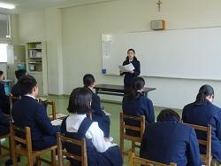 中学校弁論大会 3月14日(水)