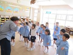 幼稚園 英語遊び 4月12日(木)