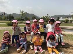 幼稚園 お散歩 4月16日(月)