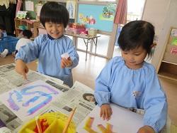 幼稚園 こいのぼり制作 4月19日(木)