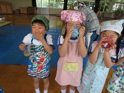 幼稚園 わいわいクッキング 5月15日(火)