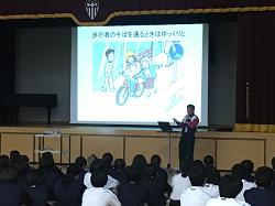 新体力テスト・交通安全教室 5月2日(水)