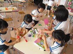 幼稚園 素材あそび 6月15日(金)