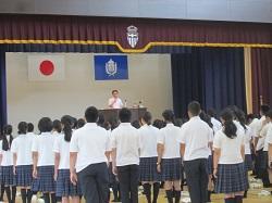 終業式 7月17日(火)