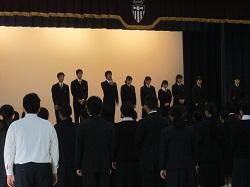 11/7(水) 壮行会