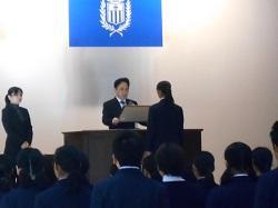 12/21(金) 2学期終業式