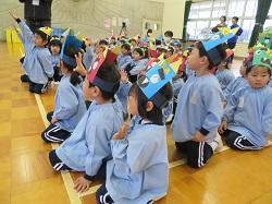 2/1(金) 幼稚園 豆まき