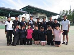 6/1(土)〜6/2(日) テニス部
