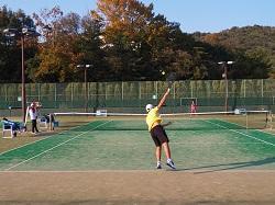 11/16(土) テニス部