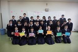 2/17(月) 中学校 3年生を送る会