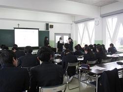 2/13(木) 高3 人権教育