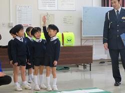 1/29(水) 幼稚園 ランドセルカバー贈呈式に参加してきました。