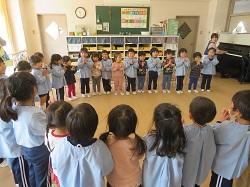 3/11(水) 幼稚園 進級にむけて