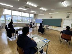 5/18(月) 中学校授業再開