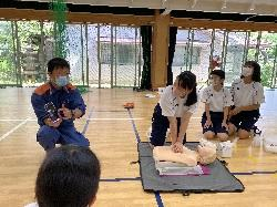 8/4(火)〜8/5(水)    AED講習会