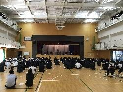 10/7(水)    高校校友会選挙