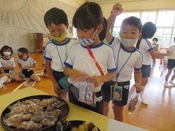 10/13(火) 幼稚園 おやつの買い物