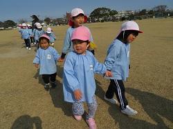 2/24(水) 幼稚園 さくら組さんとお散歩