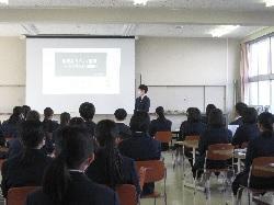 2/19(金)    高3卒業講話(消費者セミナー)