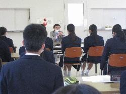 2/19(金)    高3・中3  同窓会入会式
