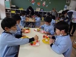 2/15(月)幼稚園 食育指導訪問