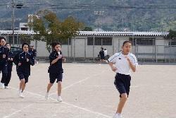 2/8(月)    中学校持久走大会