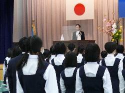 4/8(木) 入学式
