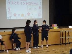 4/26(月)    中学校 新入生歓迎会